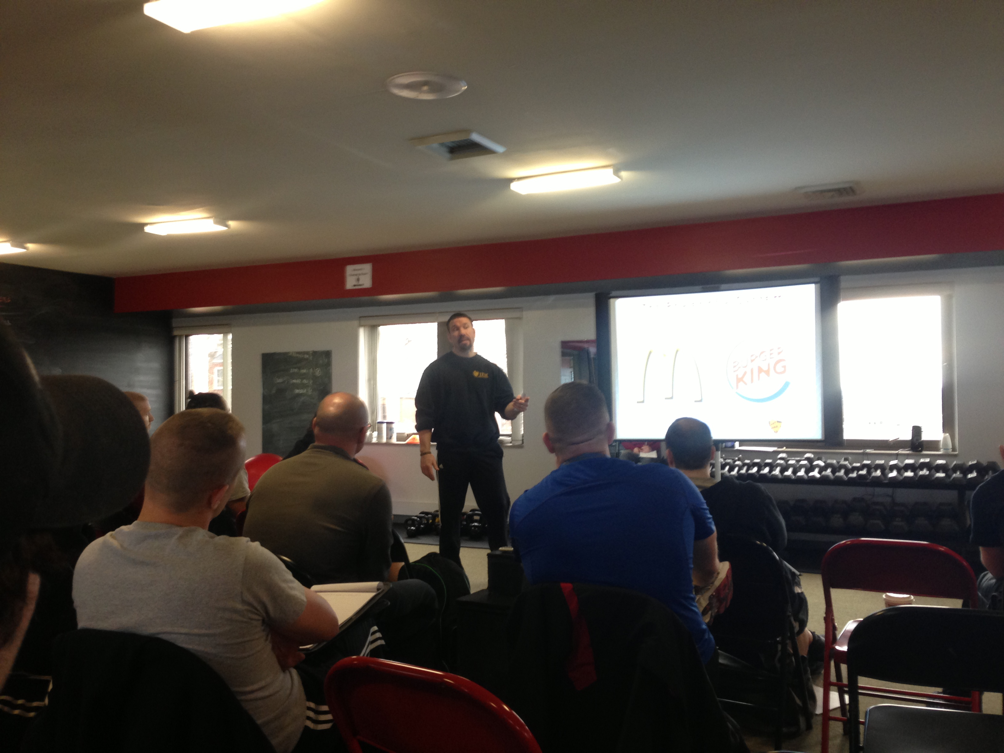 Training for warriors certification diary of a fitness seminar training for warriors martin rooney 1betcityfo Images